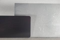 Elegoo Saturn Build Plate compared to Elegoo Mars Build Plate
