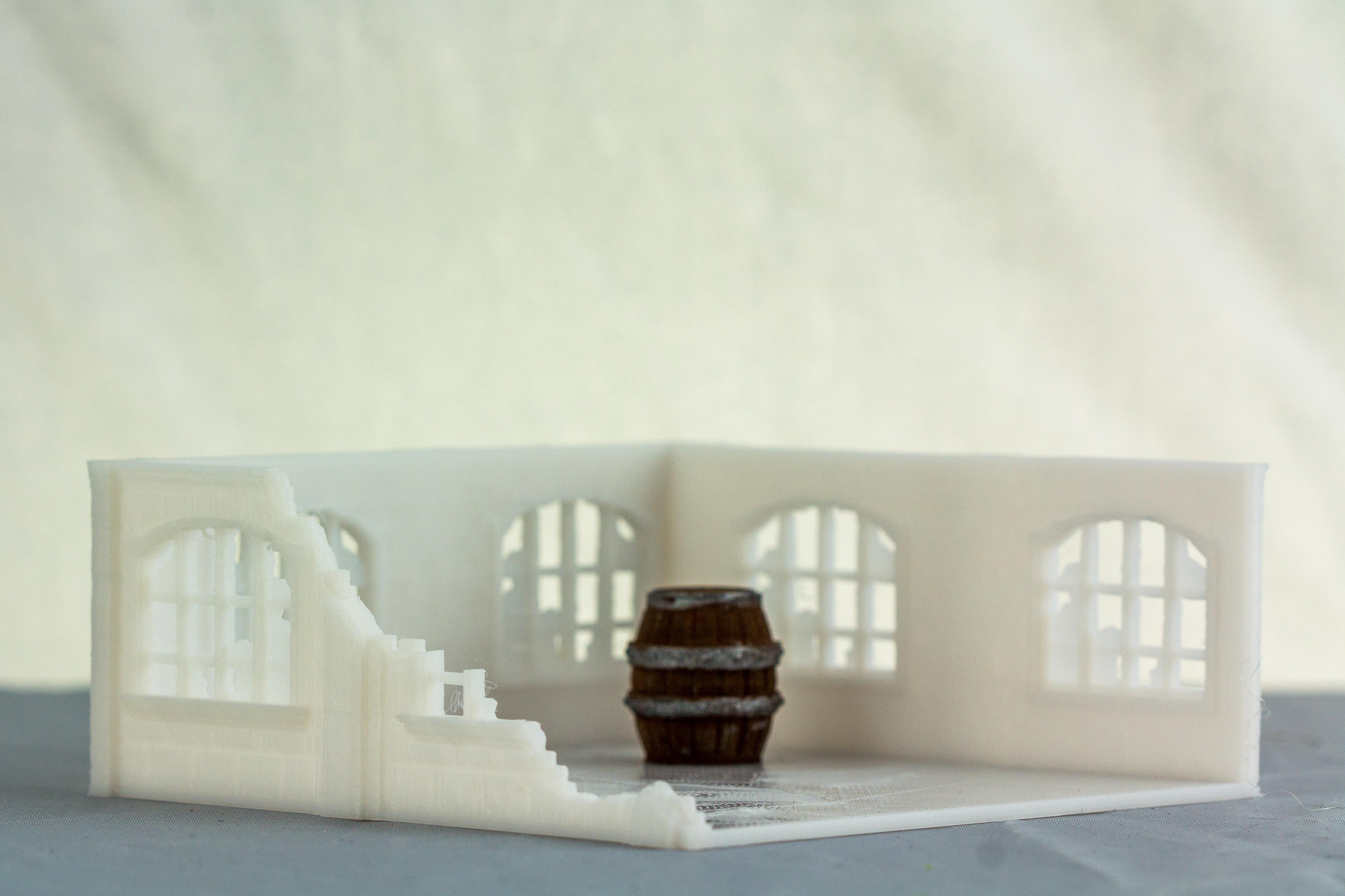 Printable Scenery: Stallingrad Ruins & Delving Decor Loot Markers: Barrels
