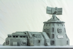 Terrain 4 Print: Sci-Fi armored barracks and Tower
