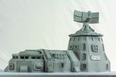 Terrain 4 Print: Sci-Fi armored barracks and Tower