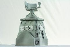 Terrain 4 Print: Sci-Fi armored Tower with radar dish