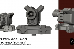 """Tower Topped """"Turret"""" - Unlocked stretch Goal"""
