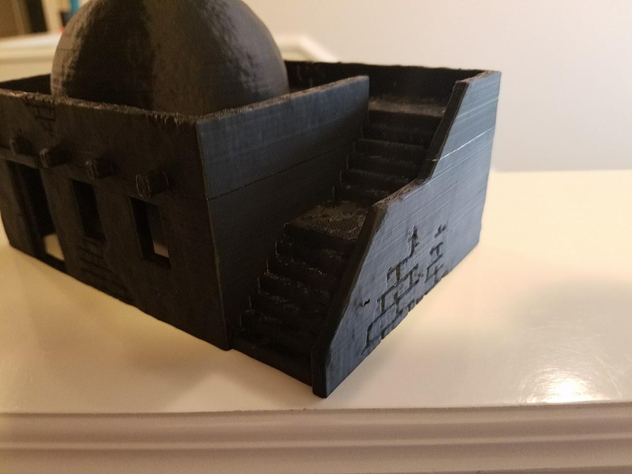 Terrain 4 Print Desert Building - Close up